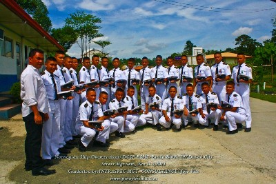 Dr. Vito with NSA Cadets of DCSP, Davao