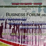 BUSINESS FORUM AT COLEGIO SAN AGUSTIN-BACOLOD
