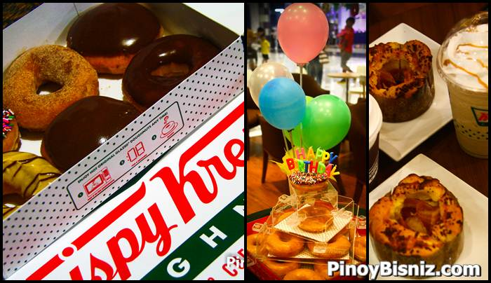 78th Birthday Promo Mechanics of  Krispy Kreme in the  Philippines