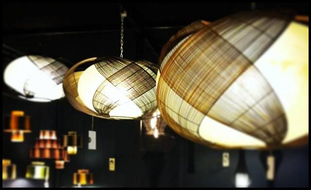 The Obi Squash Hanging Lamp by Christina Gaston at the Hacienda Crafts Company