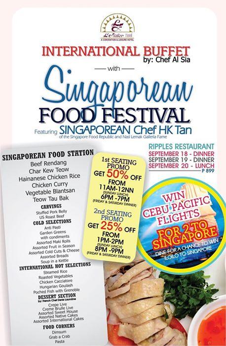 singaporean food festival