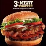 3-meat whopper
