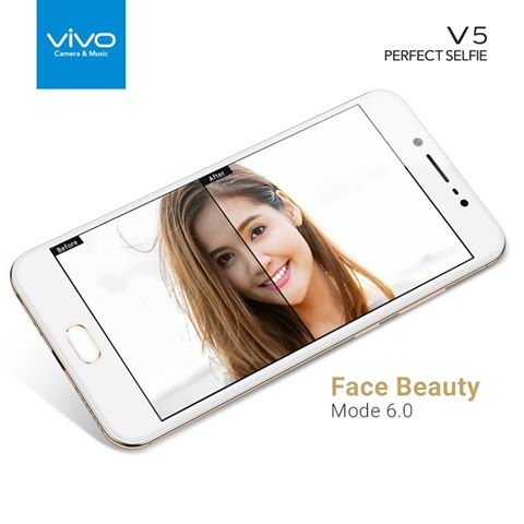 take your perfect selfie vivo v5 smartphone. Black Bedroom Furniture Sets. Home Design Ideas