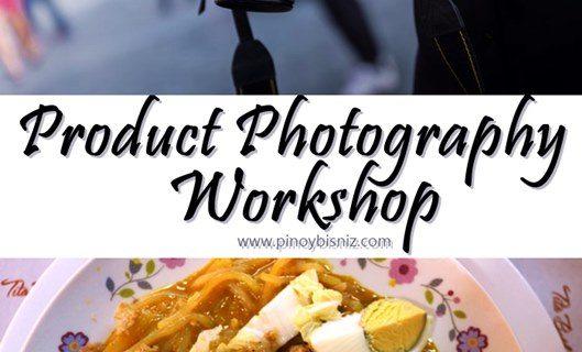 PRODUCT PHOTOGRAPHY WORKSHOP | GLOBE myBUSINESS
