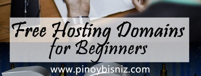 FREE HOSTING DOMAINS FOR BEGINNERS TO KICK START THEIR BLOGGING CAREER