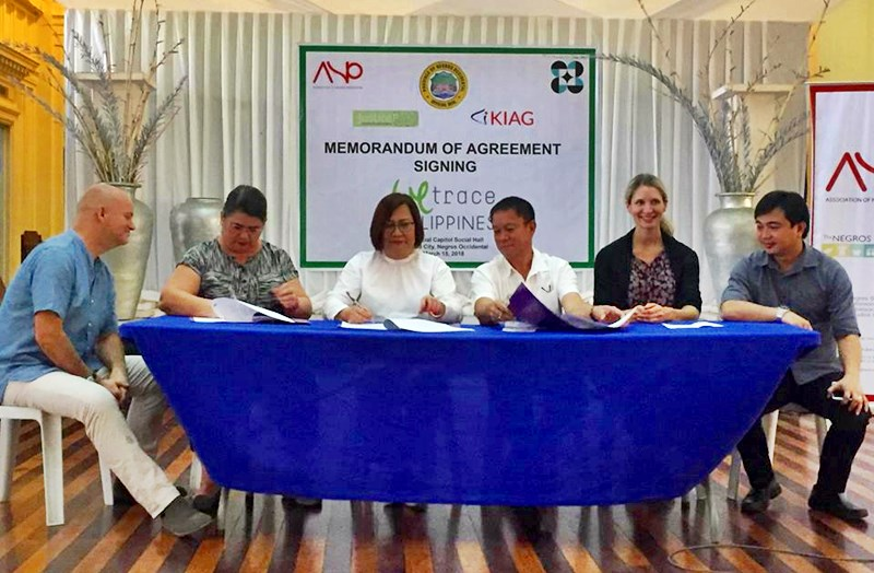 MOA Signing with Negros Occidental Provincial Government and DOST for the launch of WeTrace Philippines