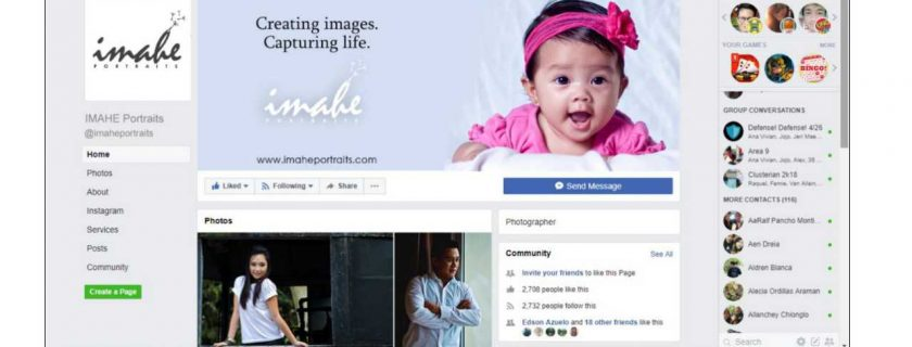 MARKETING PLAN FOR IMAHE PORTRAITS PHOTOGRAPHY SERVICE