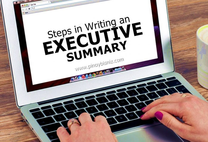 Steps in Writing an Executive Summary